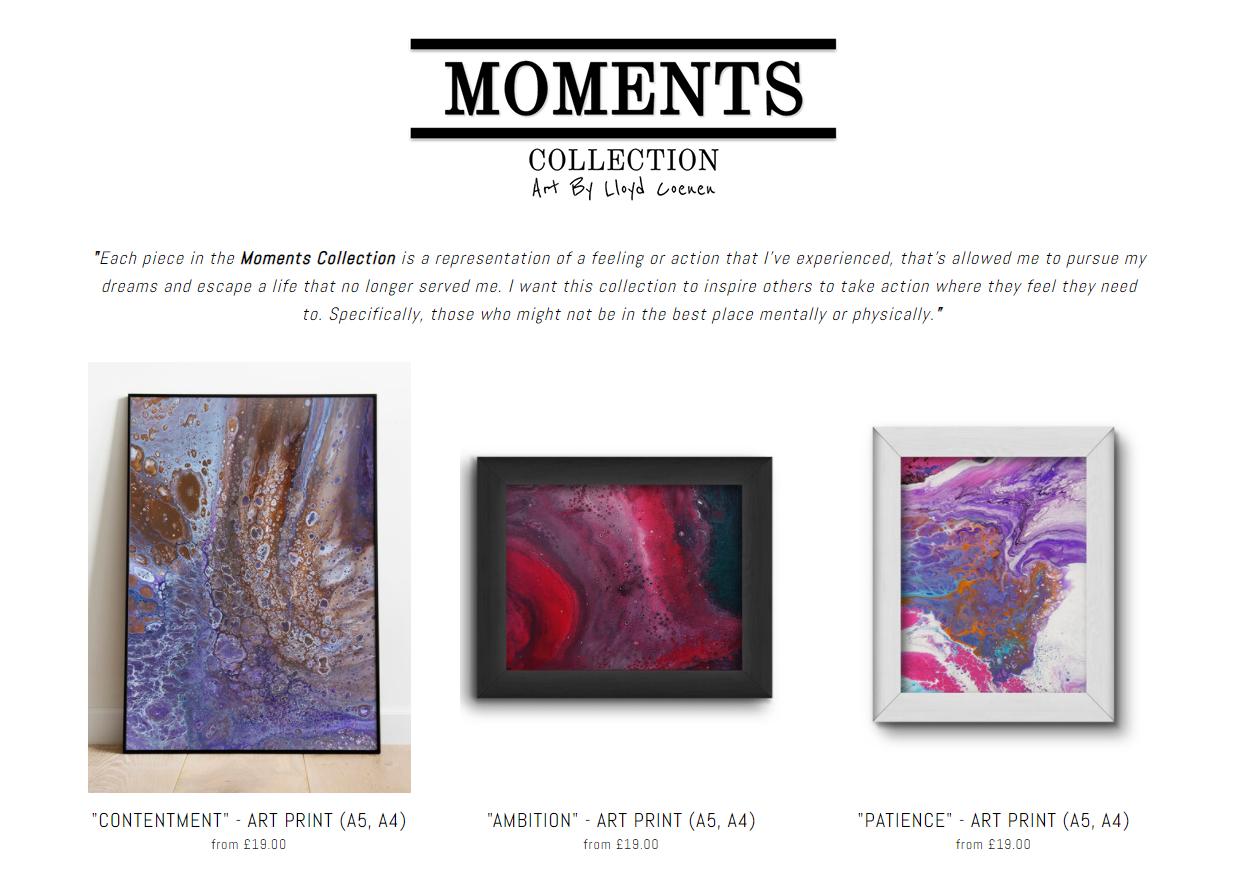 Lloyd Coenen Moments Prints