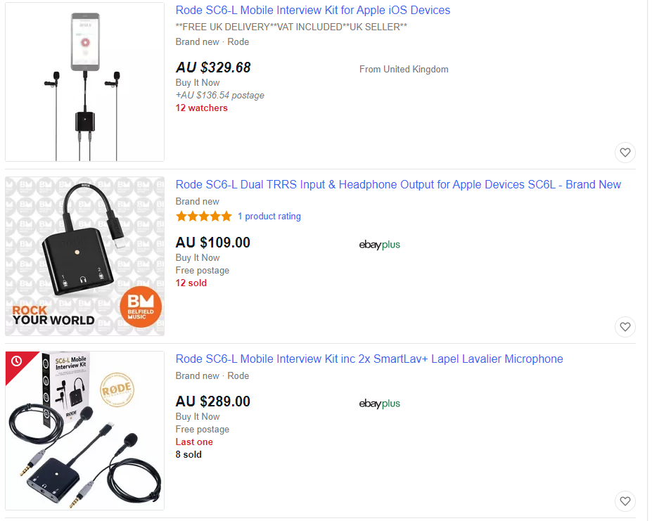 Using Ebay for Product Title Ideas