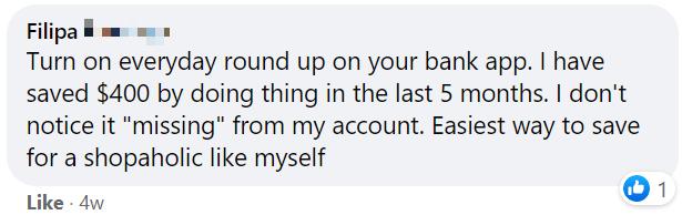 Round Up Bank Money Saving Tip